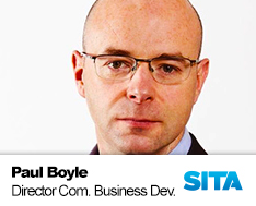 Paul Boyle, Director Commercial and Business Development at SITA